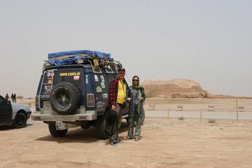 Czoga Zanbil – Elamicki ziggurat w Iranie – Dyskoteka w podróży