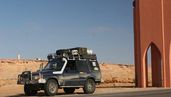 AFRYKA – Wyprawa dookoła Sahary – Część I – Przejazd przez Europę i Maroko.