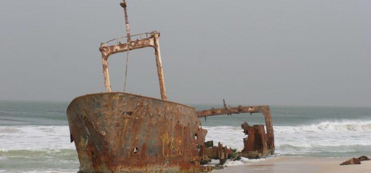 Wraki statków – Mauretania