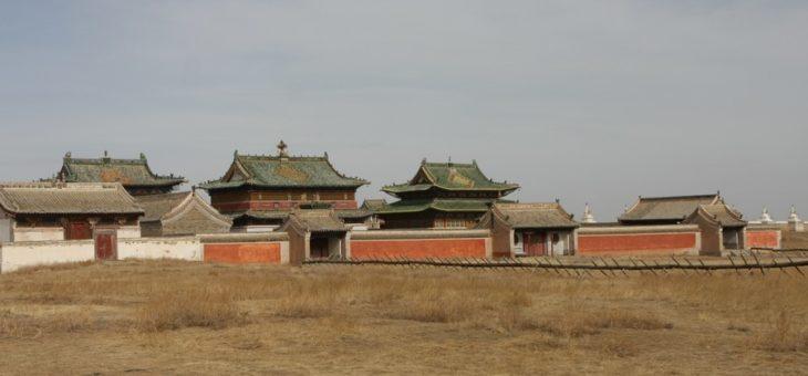 BUDDYJSKIE KLASZTORY W MONGOLII