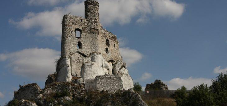 Szlakiem Orlich Gniazd – ruiny zamku Mirów