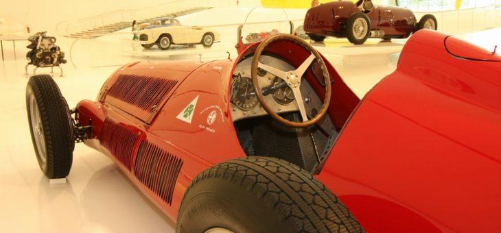 Galeria zdjęć z muzeum Ferrari