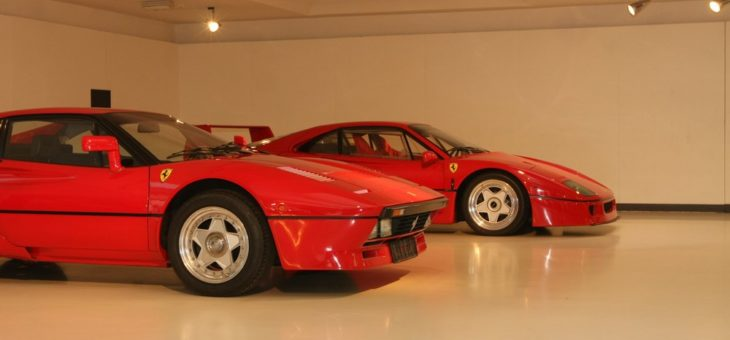 """Muzeum Ferrari – w krainie """"czerwonych potworów""""."""