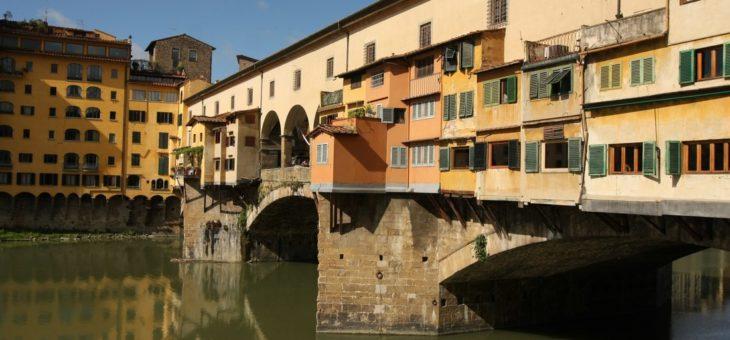 Ponte Vecchio – znaczy się florencki stary most – Florencja