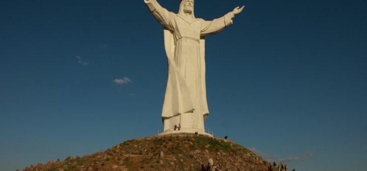 Boso, ale w ostrogach, czyli Pomnik Chrystusa Króla w Świebodzinie