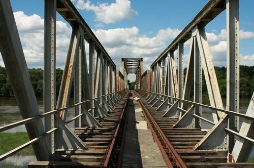 Most kolejowy Stany – Nowa Sól