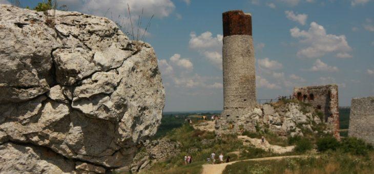 Szlakiem Orlich Gniazd – ruiny zamku Olsztyn