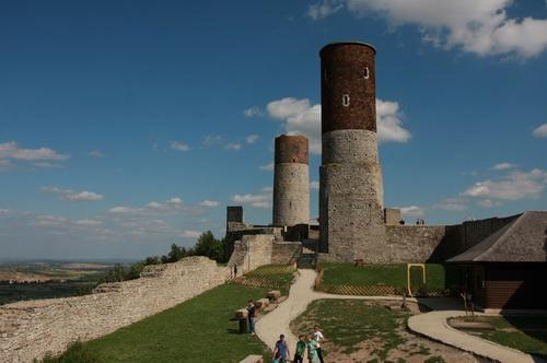 Zamek królewski w Chęcinach pod Kielcami