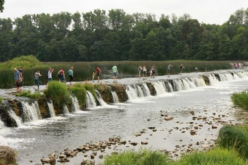 Ventas Rumba – znaczy się wodospady na rzece Windawa w Kuldydze.