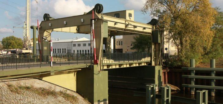 Podnoszony most drogowy – Nowa Sól