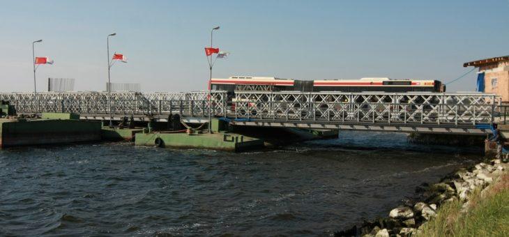 Pływający most w Sobieszewie