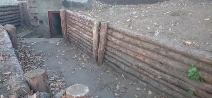 Bauwerk 560 – pozostałości schronu bojowego nr 560 w Starej Wsi (Nowej Soli)