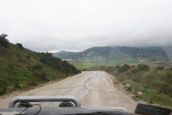 Pierwsza afrykańska droga.