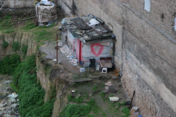 Casablanka - slumsy - od tej niechcianej strony.