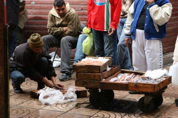 Casablanka - Medyna - 'suk'.