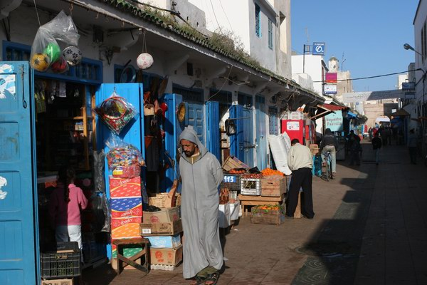 Essaouira - Medyna - 'suk'.