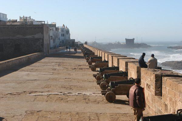 Essaouira - bateria armat.
