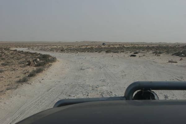 Droga niczyja. Między Marokiem a Mauretanią.