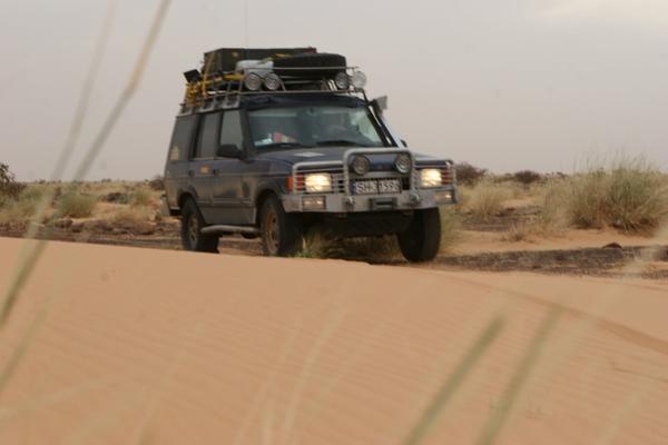 Saharyjski piach.