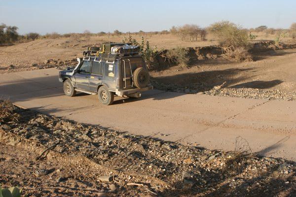 Sahara - w drodze Mali.