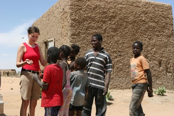 Adel Bagrou - Przejście graniczne między Mauretanią i Mali.