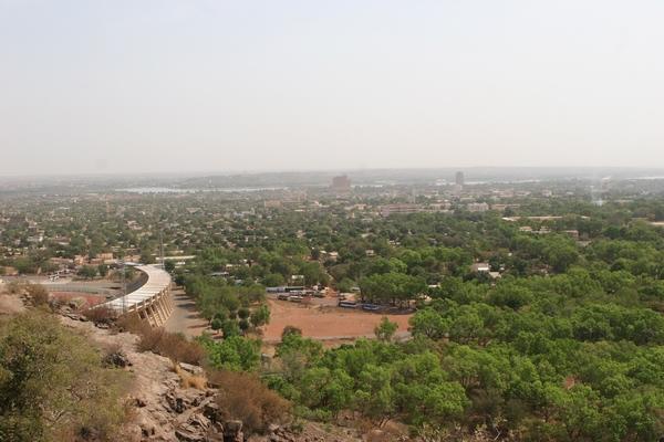 Bamako - widok z punktu G.