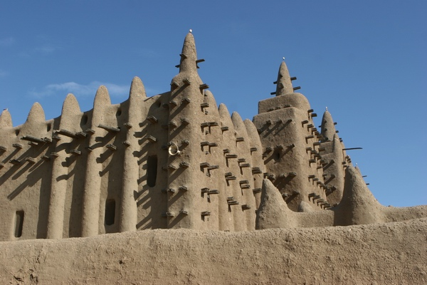 Djenne - gliniany meczet.