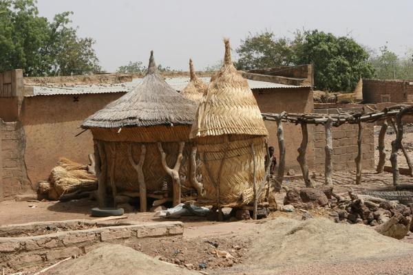 Burkina Faso - lokalna wioska.