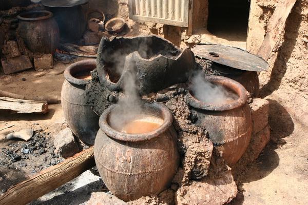 Bobo-Dioulasso - warzelnia piwa.