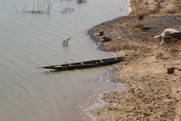 Mali - rzeka Bani - jeden z dopływów Nigru.
