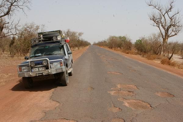 Droga do Dakaru.