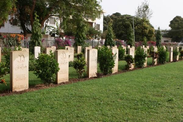 Fajara - cmentarz wojskowy.