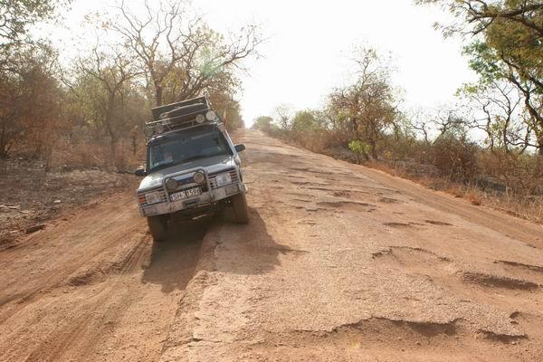 Gambijskie drogi.
