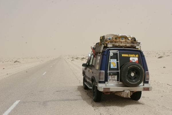 'Dyskoteka' na pustyni.