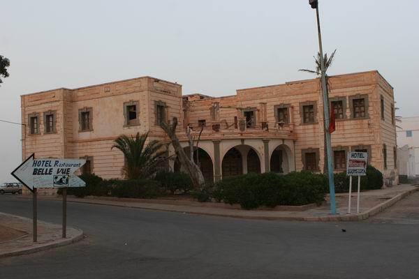 Sidi Ifni - hiszpański konsulat.