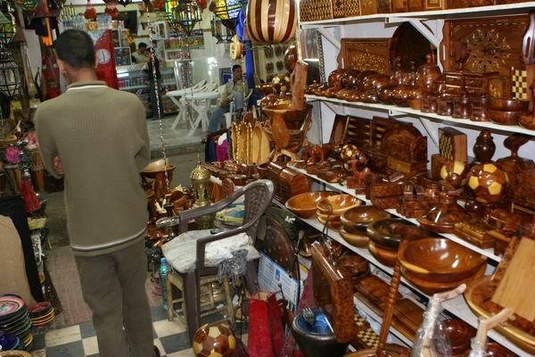 Taroudant - bazarowe zakupy.