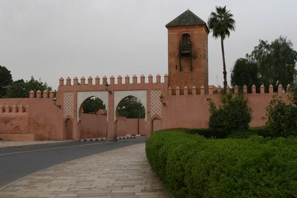 Marrakesz - Pałac Królewski.