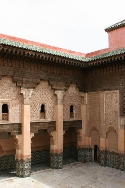 Marrakesz - Medresa Ali Ben Jusufa.