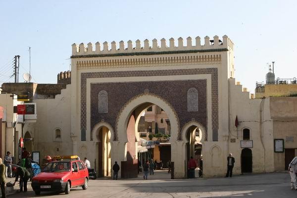 Fez - Pałac Królewski.
