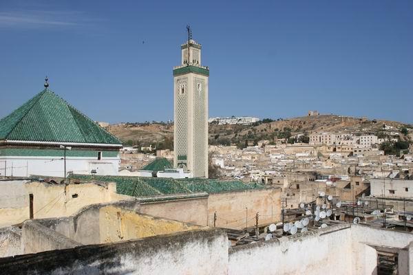 Fez - dachy miasta.