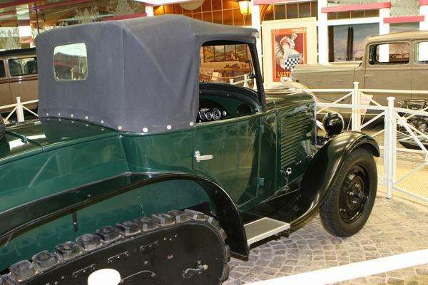 Muzeum marki Peugeot - protoplasta 4x4?