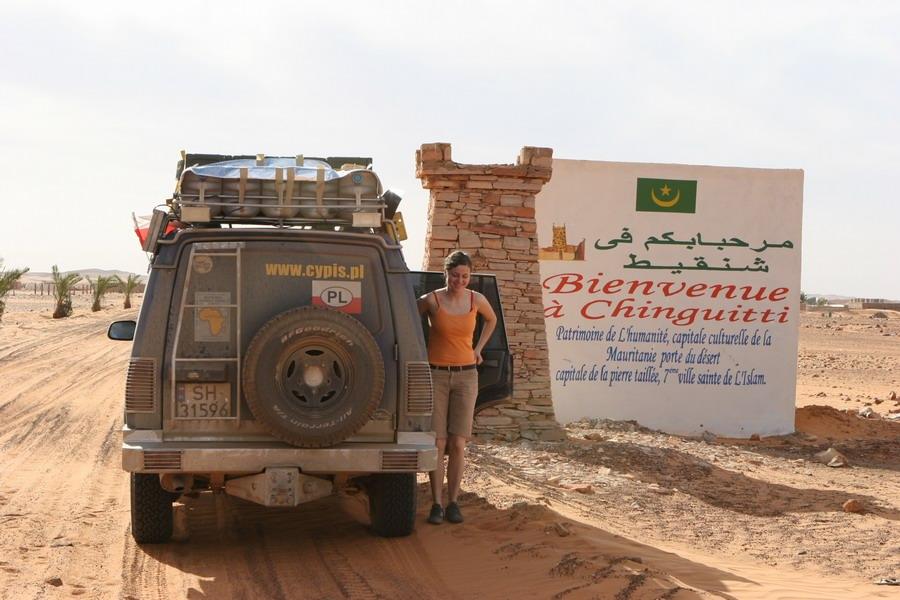 Land Rover Discovery I 300 tdi - Cypis Chinguitti - Mauratania