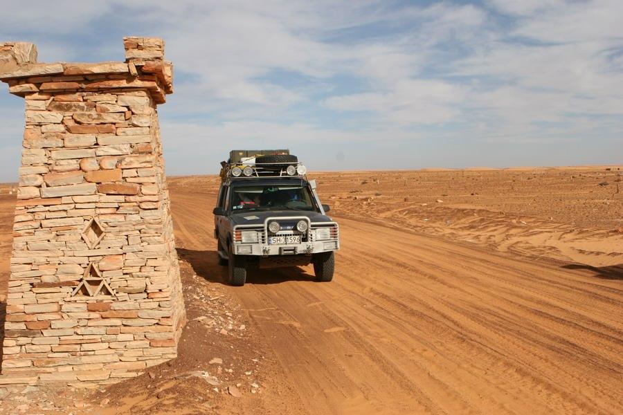 Land Rover Discovery I 300 tdi – Cypis Chinguetti – Mauretania