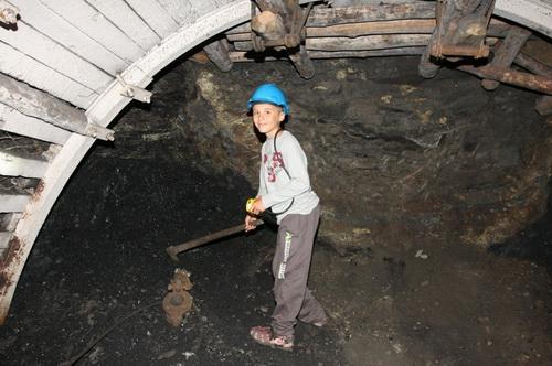 """0061_0541Zabytkowa Kopalnia Węgla Kamiennego """"Guido"""" - Zabrze - podziemna część kopalni"""